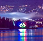 Olympic Rings Coal Harbour